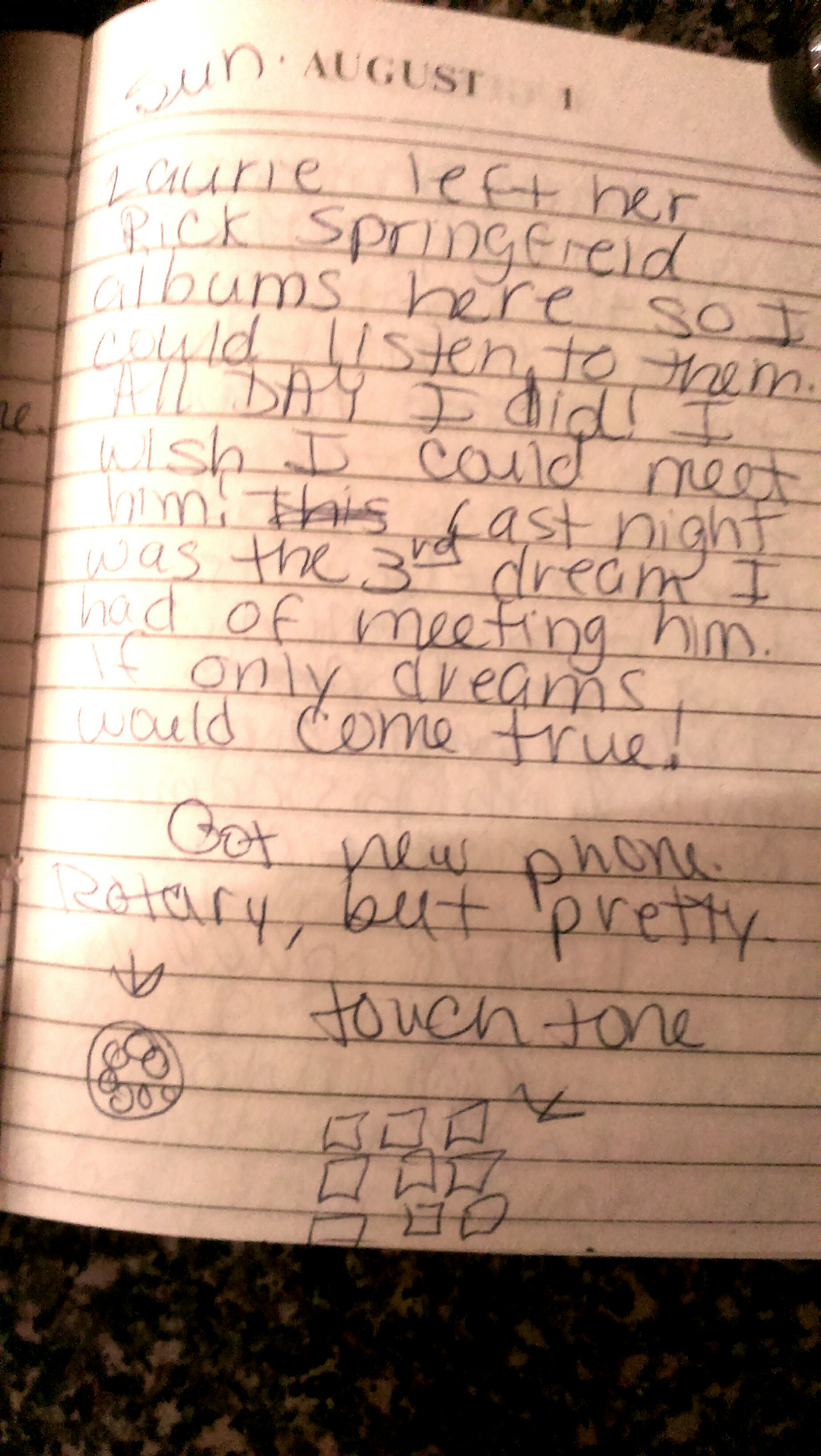 year 4-6 diary entry example