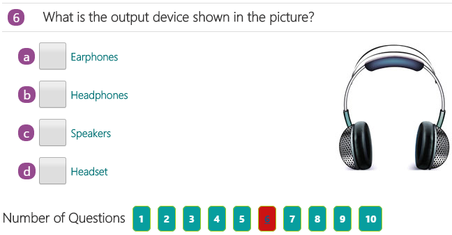 give 5 example of input device