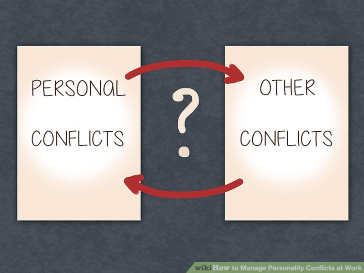 how to manage conflict in the workplace example