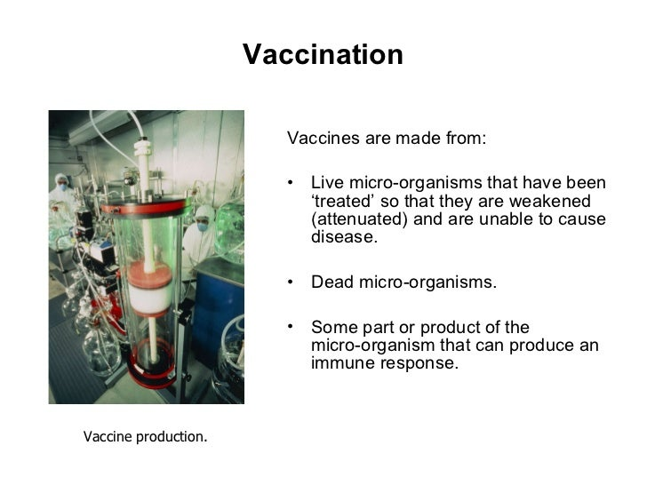 immunity that develops after vaccination is an example of