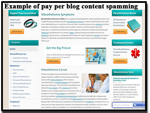 blogs would be an example of