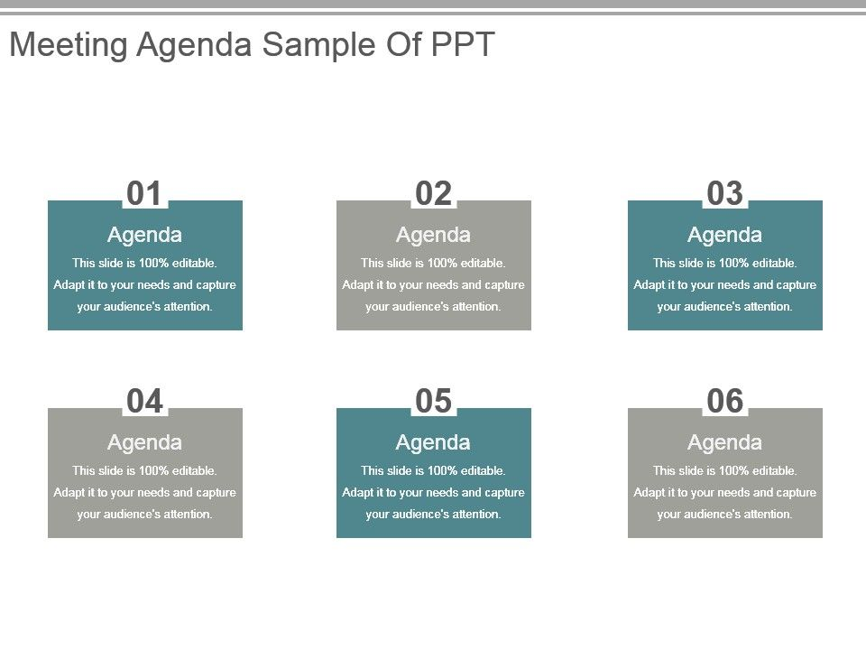 example agenda for problem solving meeting