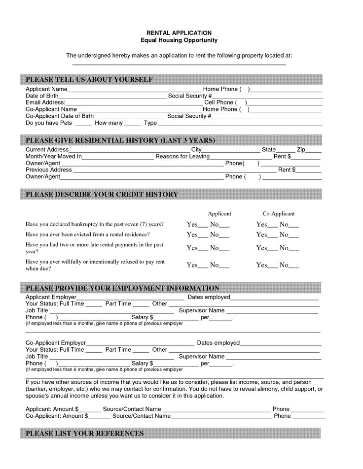 example reference letter for renting a house