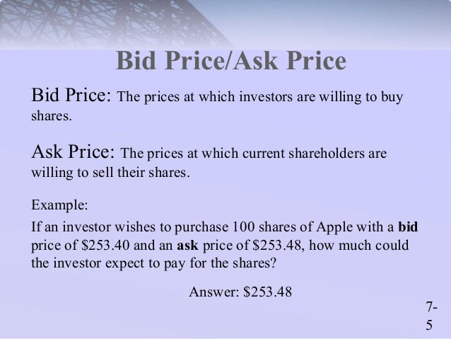 an example of a primary market transaction is
