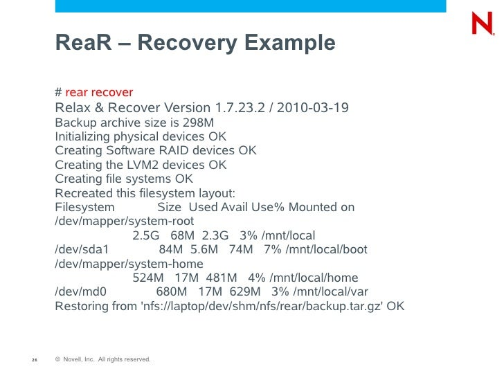 what is disaster recovery in ad any example