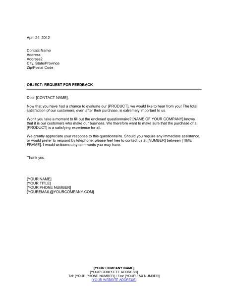 job application example positive feedback form customers
