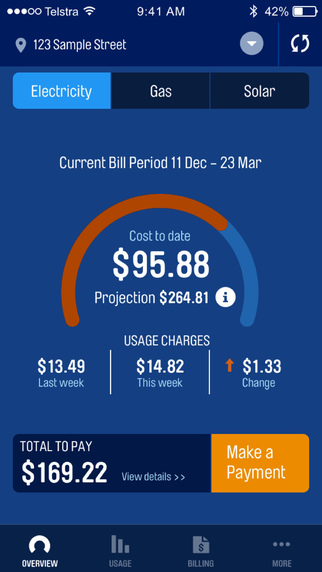 agl victoria example of a bill