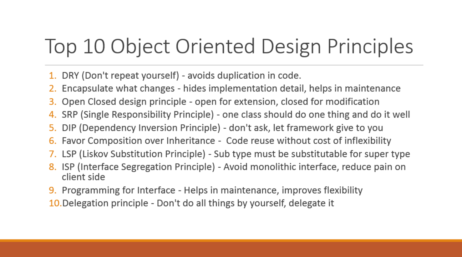 object oriented programming code example