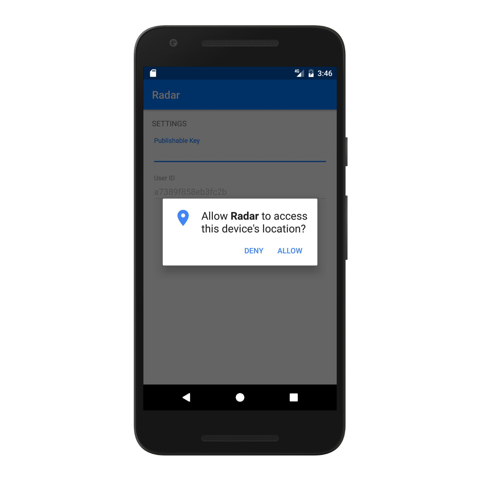 android location manager service example