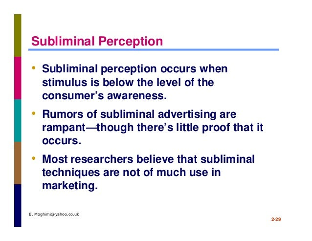 subliminal advertising definition and example
