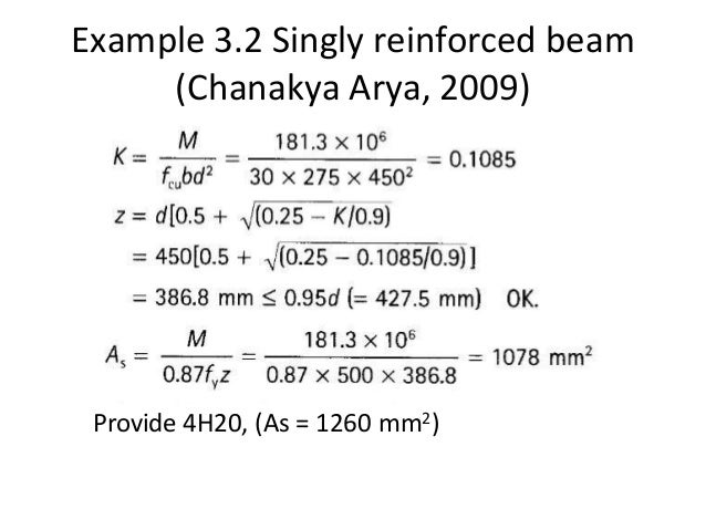 design of doubly reinforced beam example