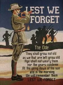 example of tribute to dead australian soldier