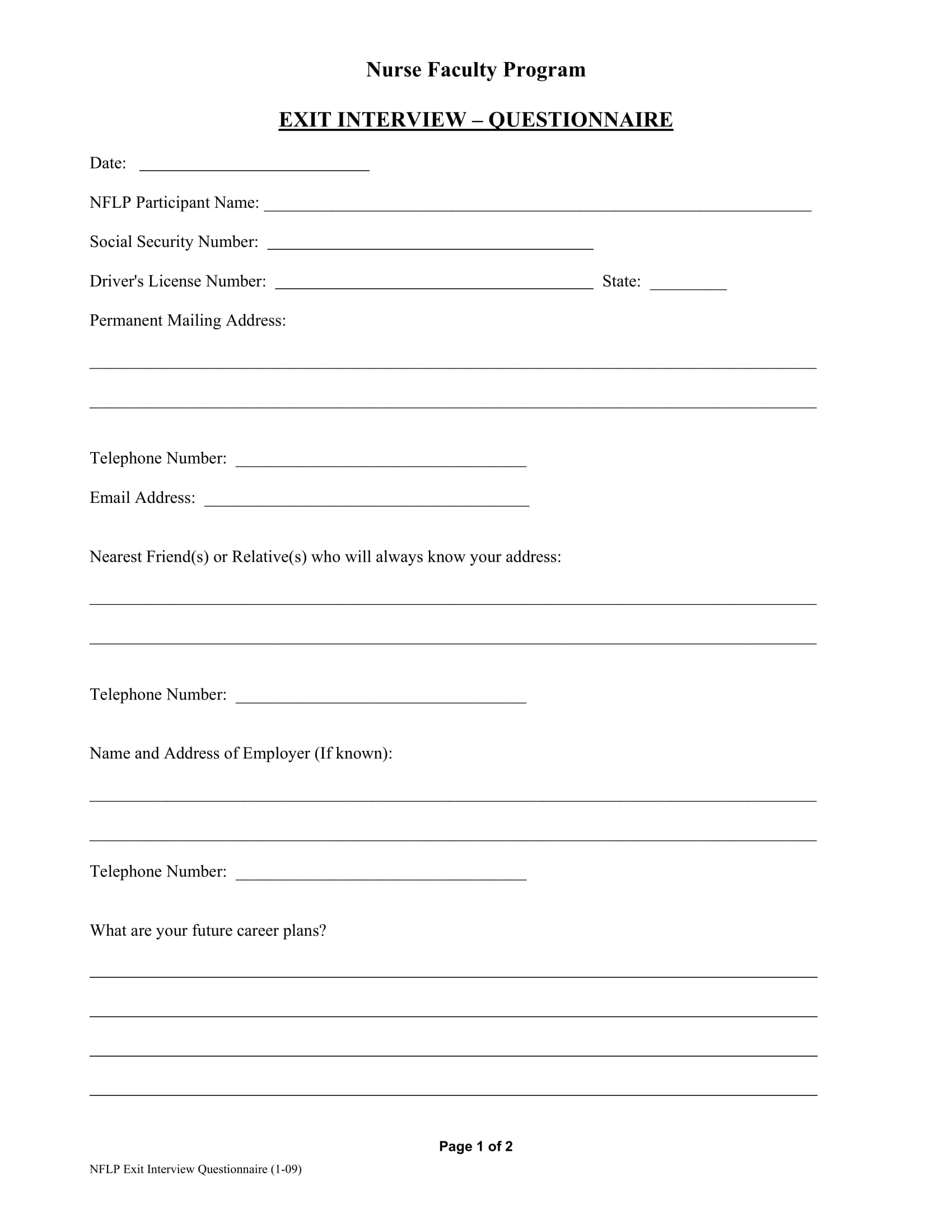 example interview questions for nurses