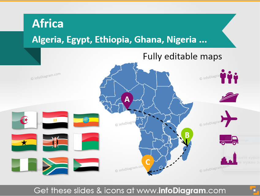 a population map is an example of