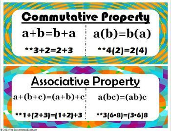 associative property of addition example problems