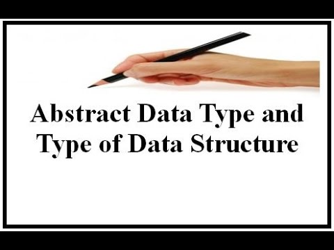 abstract data type vs data structure example