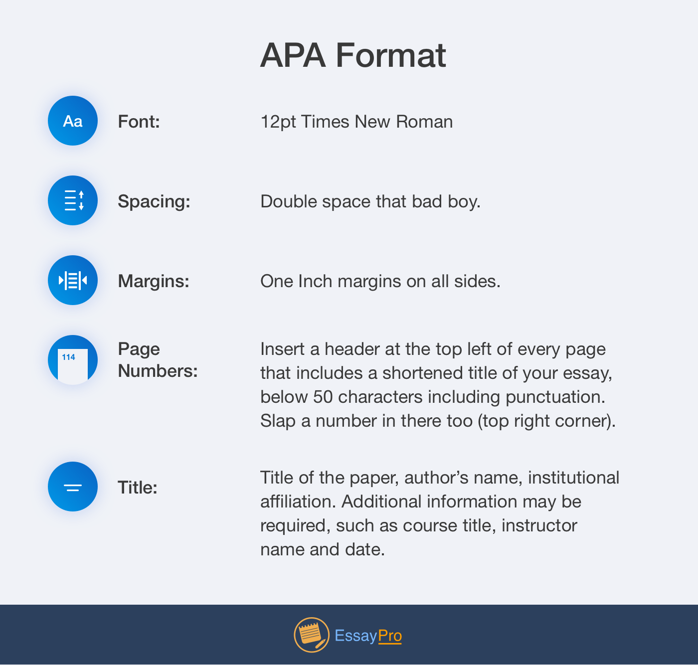 academic format in referencing example