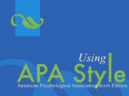 apa reference list example multiple authors