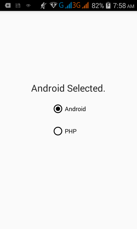 trackpad listener android example source code