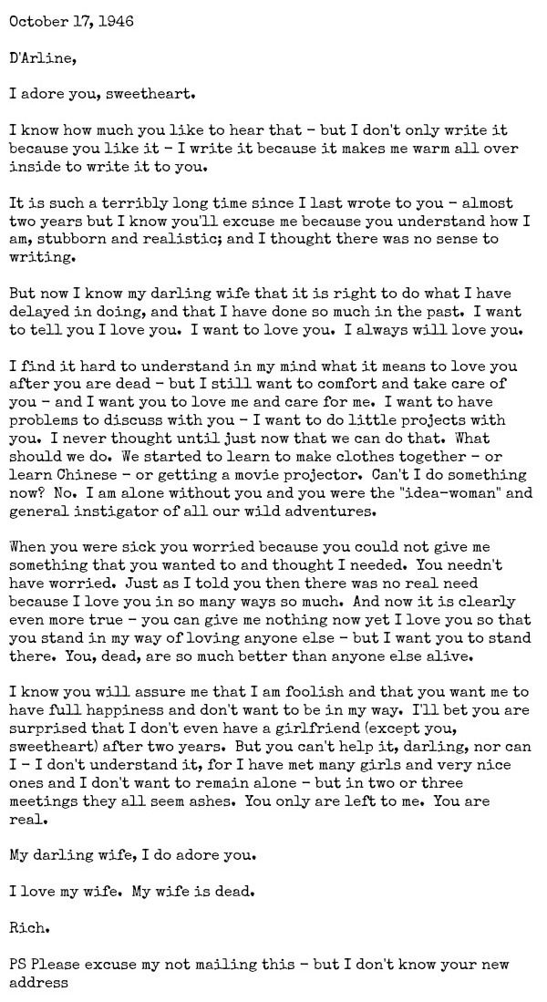 example of writing a love story