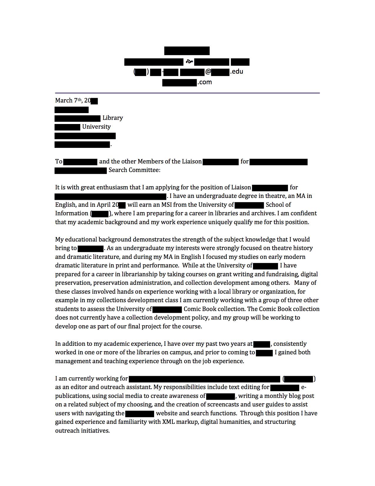 assistant principal application example victoria