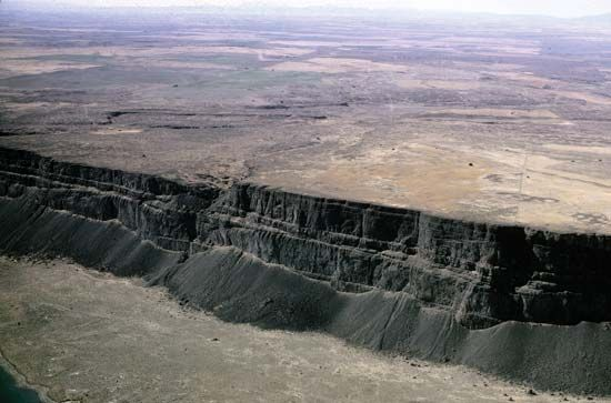 what is an example of landform