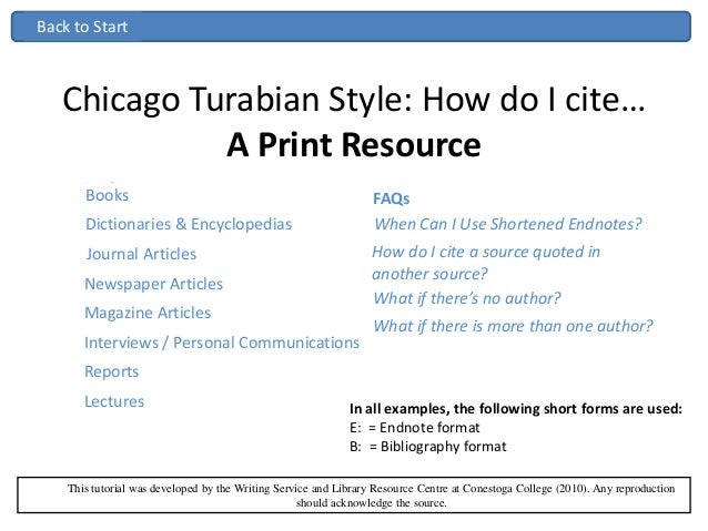 chicago style quote citation example
