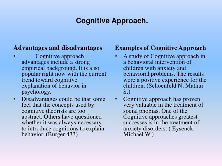 behavioral approach to management example