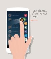 android swipe gesture example code