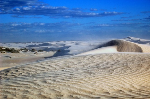 example of desertification in australia