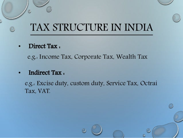 proportional tax example in india