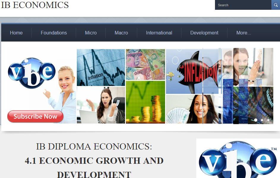 ib economics macro ia example