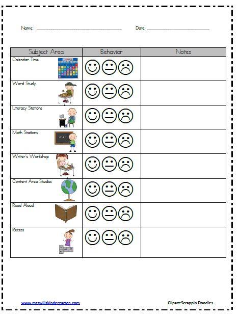individual behaviour management plan example