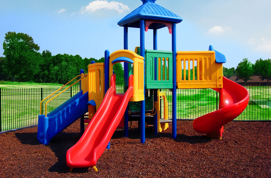 long term goal example for child playing on the playground