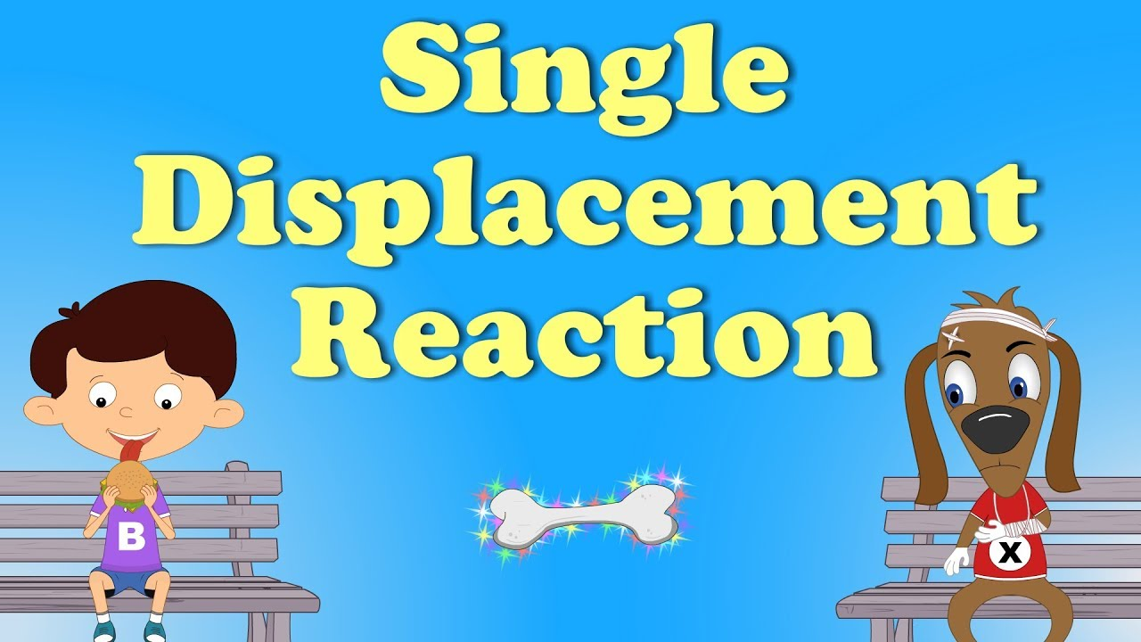 single displacement reaction everyday example