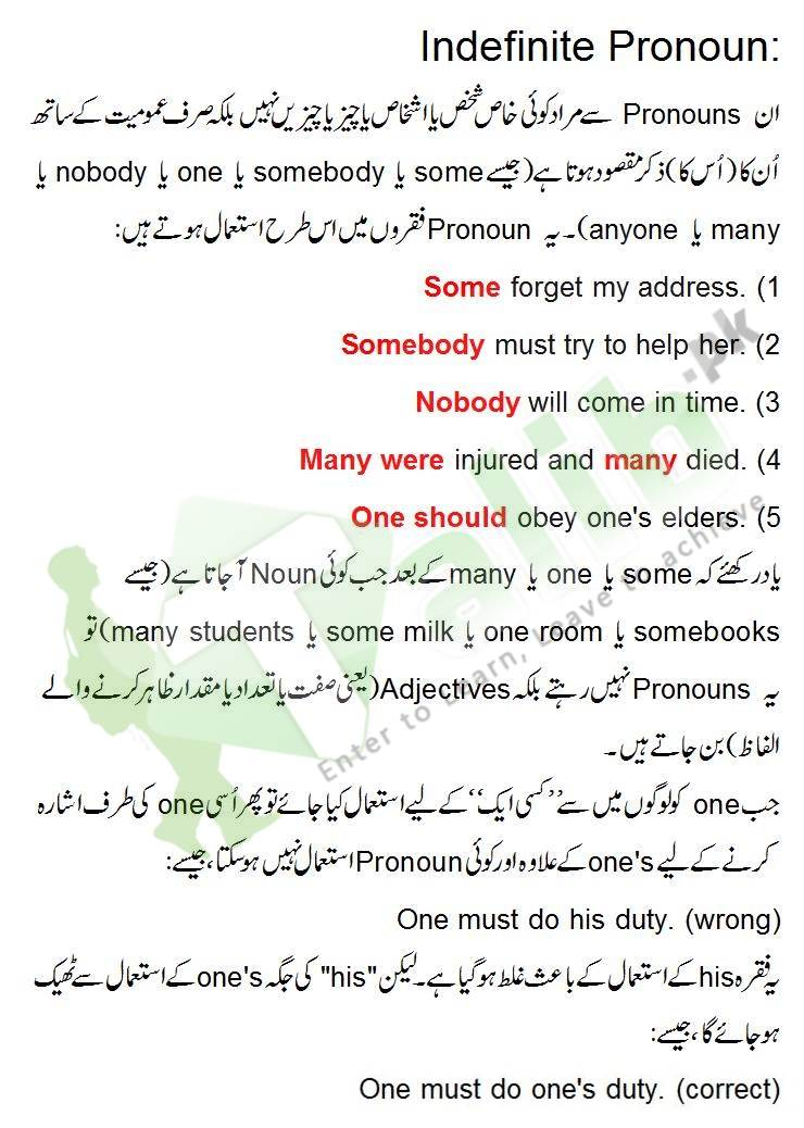 stereotype meaning in urdu with example